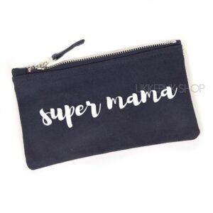 etui-make-up-tas-tasje-makeup-mama-moederdag-mam-mom-mum-mother-super-mama-blauw