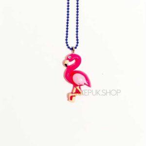 flamingo-flamingos-ketting-kettingen-meisje-meisjes-girl-girls-sieraden-sieraad-hanger-kinderketting-kinderkettingen-hanger-hangers-blauw