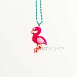 flamingo-flamingos-ketting-kettingen-meisje-meisjes-girl-girls-sieraden-sieraad-hanger-kinderketting-kinderkettingen-hanger-hangers-mint-mintgroen