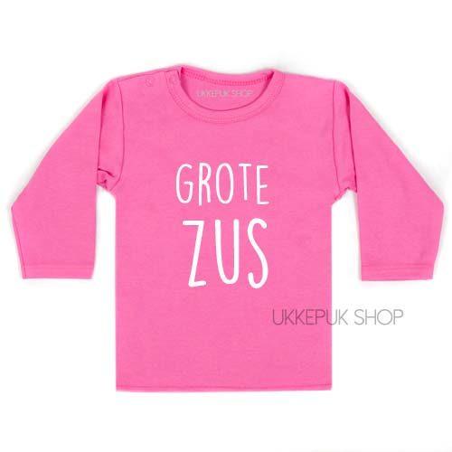 grote-zus-longsleeve-roze-baby-pink-shirt-lange-mouw-voorkant