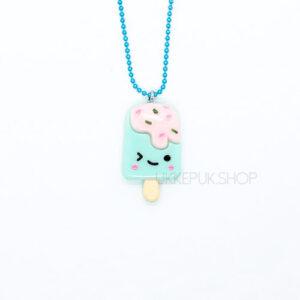 ijs-ijsje-icecream-ketting-kettingen-meisje-meisjes-girl-girls-sieraden-sieraad-hanger-kinderketting-kinderkettingen-hanger-hangers-mint-blauw
