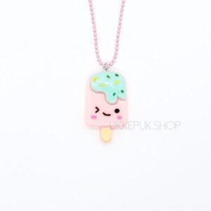 ijs-ijsje-icecream-ketting-kettingen-meisje-meisjes-girl-girls-sieraden-sieraad-hanger-kinderketting-kinderkettingen-hanger-hangers-roze-pink