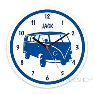 klok-vw-bus-t1-volkswagen-t2-camper-retro-blauw-jongen