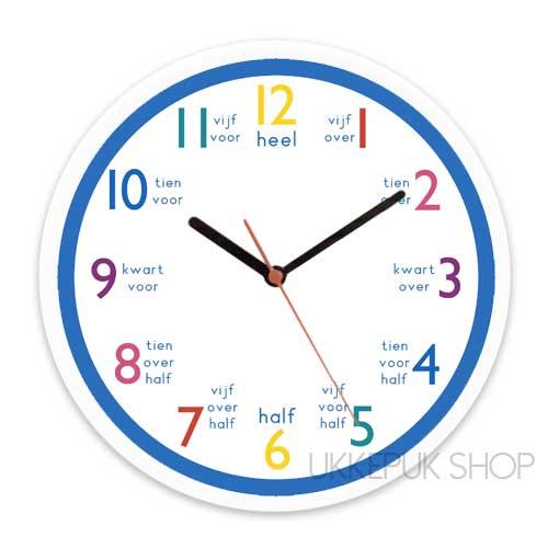 leren-klokkijken-klok-kijken-groep-3-4-5-6-blauw