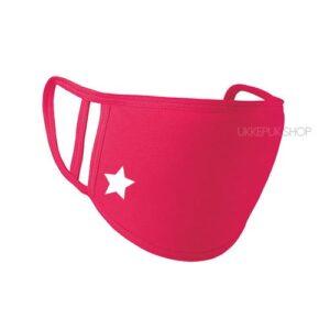mondkapje-mondmasker-mondkap-bedrukt-ster-star-roze