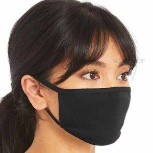 mondmasker-mondkapje-mondkap-onbedrukt-blanco-zwart