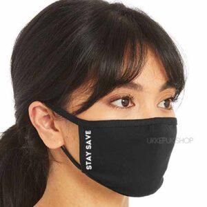 mondmasker-mondkapje-mondkap-opdruk-staysave-stay-save-zwart