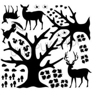 raamfolie-herfst-autumn-bomen-tree-boom-egel-spin-spider-leaves-bladeren-school-juf-deer-rendier-rendieren-paddestoelen-eekhoorn-eekhoorns-spinnen