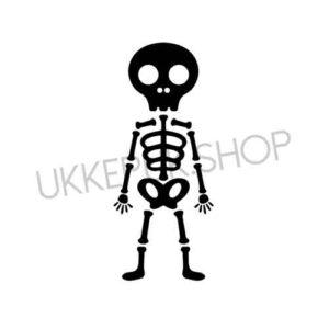 raamsticker-raamstickers-huizen-straat-straatje-statisch-herbruikbaar-raamfolie-halloween-skelet-skeleton-coco