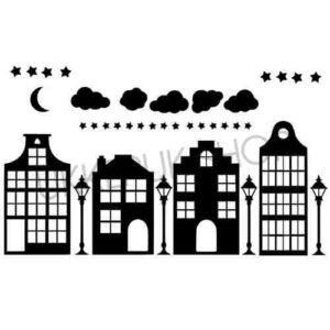 raamsticker-raamstickers-sinterklaas-sint-huizen-straat-straatje-statisch-herbruikbaar-raamfolie-hollandse-huisjes-basisstraat