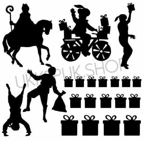 raamsticker-raamstickers-sinterklaas-sint-zwarte-piet-pieten-cadeautjes-presents-present-gift-huizen-straat-straatje-statisch-herbruikbaar-raamfolie-hollandse-huisjes-basisstraat