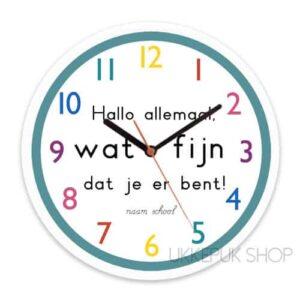 Juf Ank - Klokken
