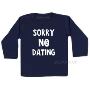 shirt-baby-kind-sorry-no-dating-blauw