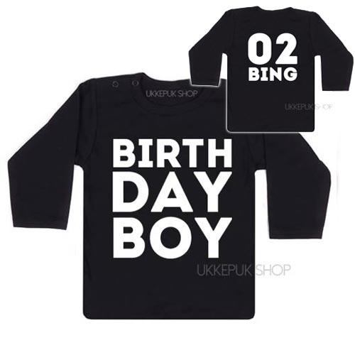 Verjaardagsshirts