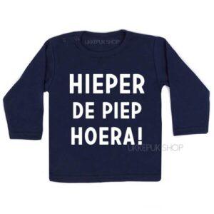 shirt-eerste-tweede-verjaardag-hieperdepiep-hoera-hieper-de-piep-jarig-feest-kleuter-peuter-blauw