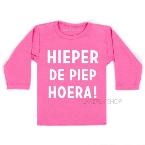 shirt-eerste-tweede-verjaardag-hieperdepiep-hoera-hieper-de-piep-jarig-feest-kleuter-peuter-roze