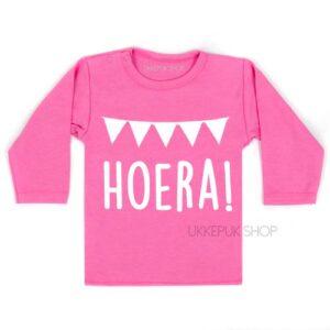 shirt-eerste-verjaardag-jaar-jarig-hoera-since-met-naam-datum-roze