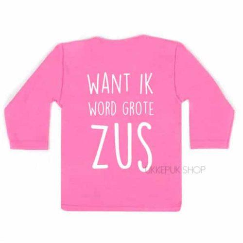 shirt-grote-zus-kus-zwanger-roze-achter