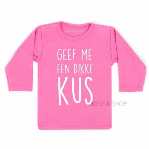 shirt-grote-zus-kus-zwanger-roze-voor