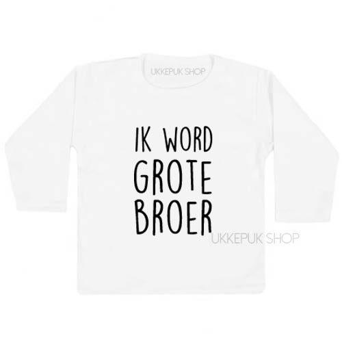 New Shirt Ik word grote broer - Ukkepuk.shop &CA95