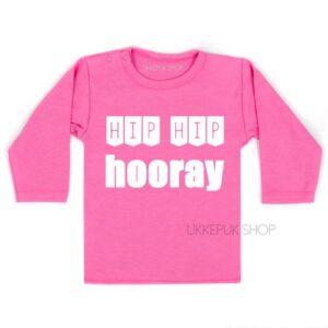 shirt-jarig-1-jaar-verjaardag-verjaardagsshirt-hip-hip-hooray-kind-2-3-roze