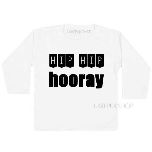 shirt-jarig-1-jaar-verjaardag-verjaardagsshirt-hip-hip-hooray-kind-2-3-wit