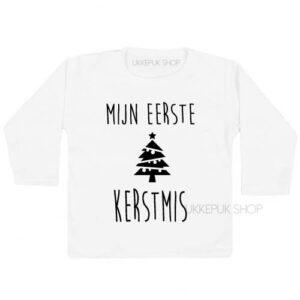 shirt-kerst-kerstmis-feestdagen-december-kerstfeest-peuter-kleuter-kind-mijn-eerste-kerst-wit