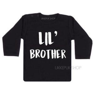 shirt-little-brother-kleine-broer-zwanger-zwart