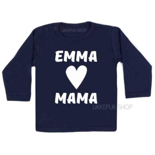 shirt-naam-hartje-mama-blauw