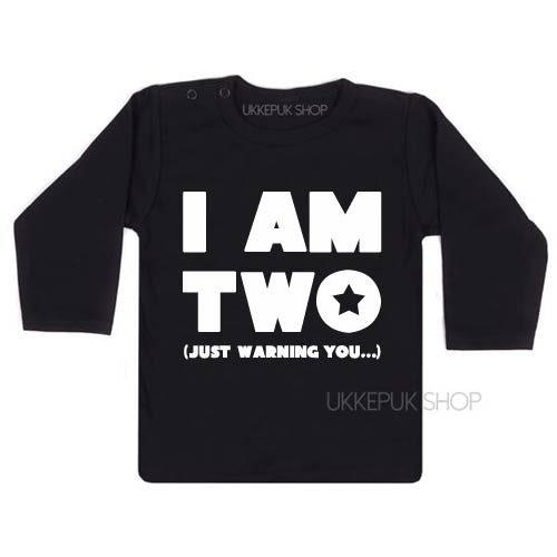 shirt-verjaardag-jarig-feest-kind-twee-jaar-party-verjaardasshirt-zwart