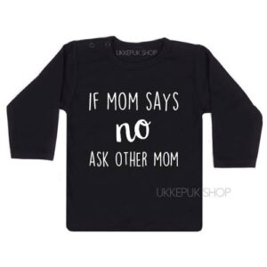 shirts-twee-mama-lesbisch-gay-roze-pink-baby-kind-if-mom-says-no-ask-other-mom-zwart