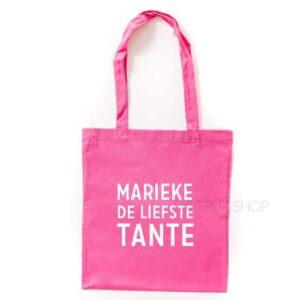 tas-roze-liefste-tante-naam