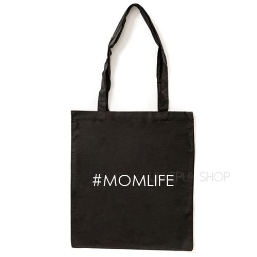tas-shopper-winkelen-shop-boodschappen-mama-moederdag-moeder-mam-momlife-zwart