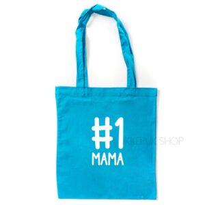 tas-shopper-winkelen-shop-boodschappen-mama-moederdag-moeder-mam-nummer-een-1-one-mama-blauw