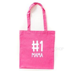 tas-shopper-winkelen-shop-boodschappen-mama-moederdag-moeder-mam-nummer-een-1-one-mama-roze